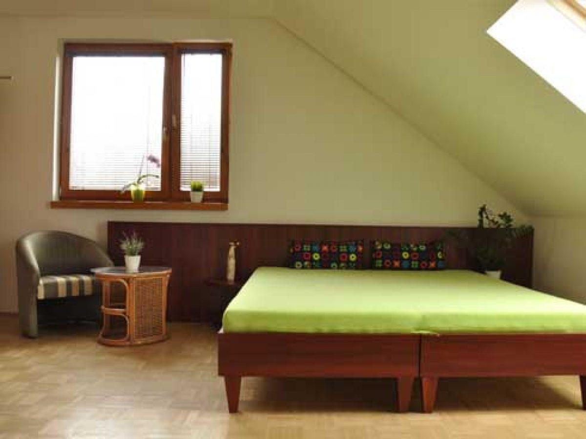 Podkrovná izba pre návštevy